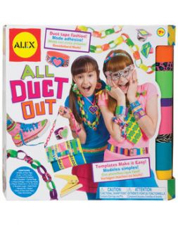 New All Duct Out Duct Tape Craft Kit by Alex Toys Item # 769W