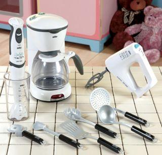 Light Sound Braun Kitchen Playset Toy Appliances New