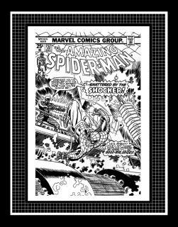 Gil Kane Amazing Spider Man #152 Rare Production Art Cover