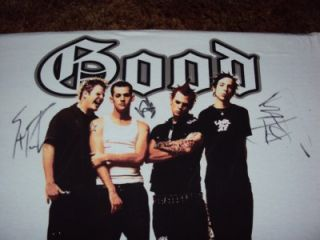 Good Charlotte Signed Autographed T Shirt Tee Shirt With COA