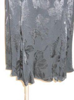 Violet Kay Spencer Alexis Black Floral Jacquard Tank Dress PM