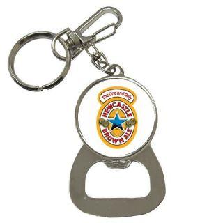 Newcastle Brown Ale Beer Logo Bottle Opener Key Chain