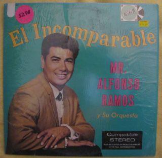 Alfonso Ramos y Su Orquestra El Incomparable Tejano Tex Mex Capri L P
