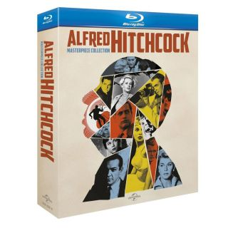 Alfred Hitchcock Masterpiece Collection Blu Ray Complete Box Set NEW