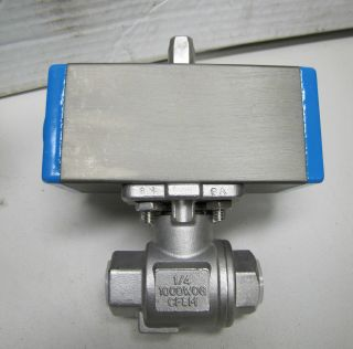 Valbia s s Stainless Steel Pnuematic Air Actuator Valve 32 1 4
