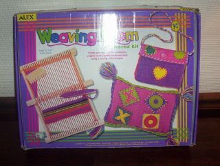 Alex Toys Giant Weaving Loom Large 12 x 16 Advanced Kit Handwoven