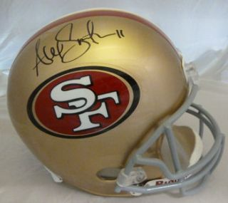Alex Smith Autographed Signed San Francisco 49ers Full Size Helmet Tri