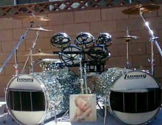 Alex Van Halen 1984 Ludwig Copy Drumset