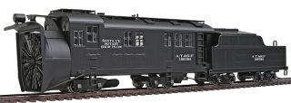 Santa FE ATSF Alco Rotary Snow Blower with Spinning Blade RTR HO Scale