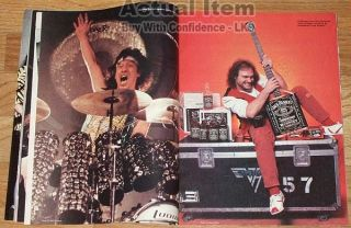 All Van Halen Close Up Eddie David Lee Roth Alex Michael Anthony Creem