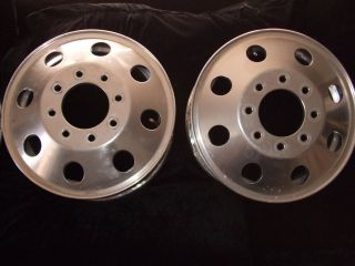 Alcoa Aluminum Rims Chevy Truck GMC Dually Pickup RV Motor Home Pre