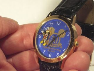Watch Disney Mickey Mouse Mens Disneyland 50th Anniversary 1955 2005
