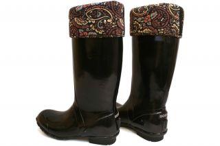 Bogs Women Alex 52464 New Waterproof Black Rain Snow Boots Size 6 10