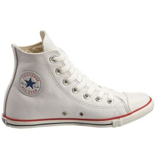 Converse Chuck Taylor All Star Slim Hi Leather White All Size