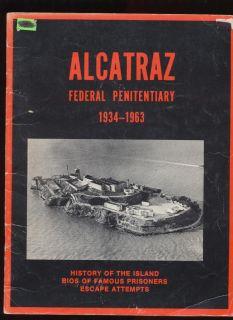 Alcatraz Penitentiary 1934 1963 History BIOS Capone Coy Karpis Ness