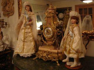 Crees and Coe Alexandra and Anastasia dolls