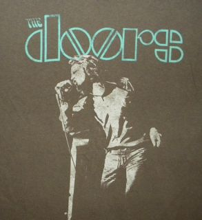 The Doors Jim Morrison T Shirt Musician Rock Band Concert Hippie 60s