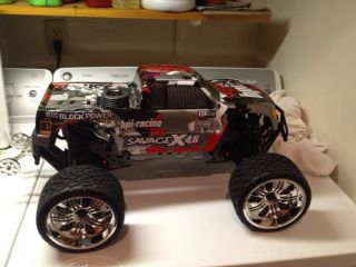 HPI Savage X 4 6 R C Nitro Monster Truck RTR With 2 4GHz HPI105644