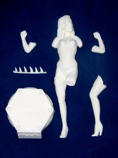 Batgirl Alicia Silverstone 1 6 Unpainted Statue Figure Model Resin Kit