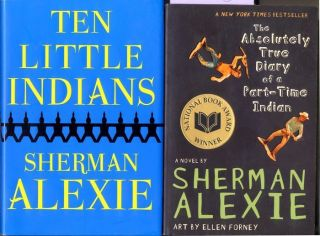 books by Sherman Alexie Ten Little Indians True Diary of a Part Time