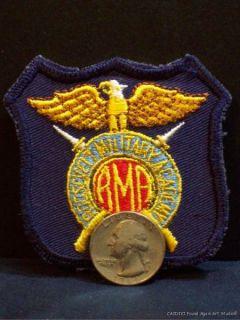 Vtg Roosevelt Military Academy Aledo Illinois Patch Insignia Uniform