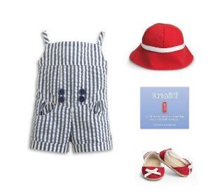 My American Girl Sea Breeze Outfit for Dolls Charm Brand New in AG Box