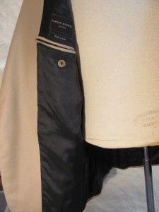 Alfred Dunhill London Khaki Wool Sport Coat Jacket 40R Lined Made in