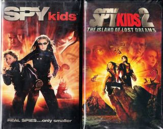 Spy Kids VHS 2001 Spy Kids 2 2 VHS Tapes 786936161540