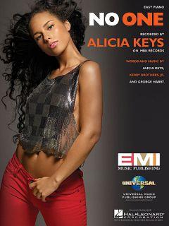 alicia keys no one easy piano sheet music