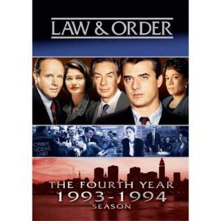 Law & Order   The Fourth Year (1993 1994 Season) DVD Jerry Orbach