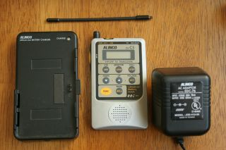 Alinco DJ C5 VHF UHF portable handheld transceiver w/ box USED radio