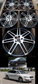22 Wheels Set for Audi Q7 VW Touareg Porsche Cayenne Set of 4 Rims