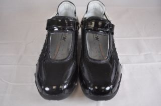 Allrounder by Mephisto Niro Mary Jane Black Patent Leather Mesh 838 7