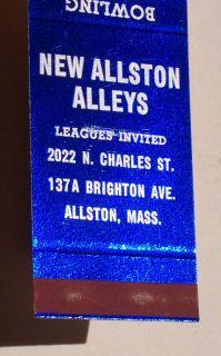 1950s Matchbook Green Acres Bowl Allston Ozone Park NY