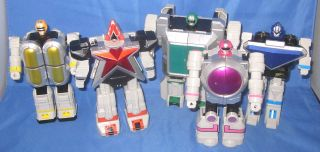 Bandai Power Rangers Zeo Deluxe Megazord w 1x Sword Other Parts