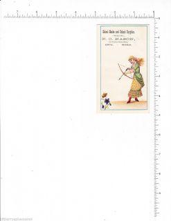 4232 E C Nason School Books Supplies Alpena MI Archery Bow Arrow