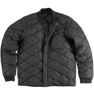 Alpha Industries Rider Jacket Lightweigt Black Sage Green Army Coat