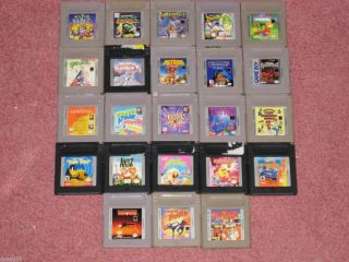 Game Boy Games Your Choice You Pick What You Want N 2