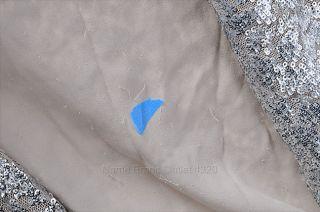 Alice + Olivia S P 2 4 Long Sequin Vest Silver SLVLS Designer Top