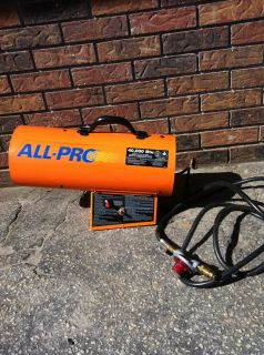All Pro 40 000 BTU Portable Forced Air Heater