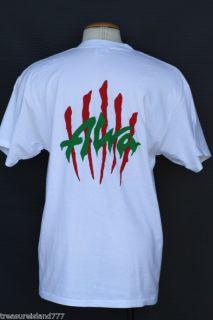 Tony Alva Rasta Color Cat Scratch Skate T Shirt LG