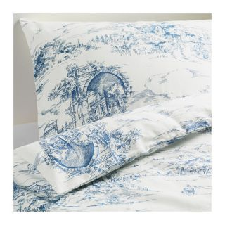 IKEA EMMIE LAND Blue White Twin Size Quilt Duvet Cover Set NEW Country
