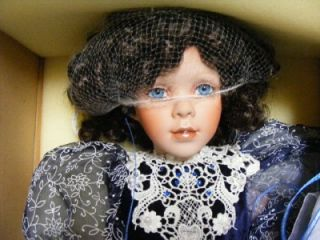Estate 26 AMERICAN ARTIST 225/600 Alyssa Marie Porcelain Doll