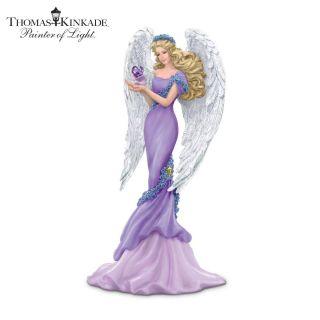 Thomas Kinkade Alzheimers Charity Angel Figurine Caring