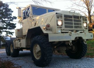1991 AM General M931A2 Military Semi 5 Ton Tractor Truck M35A2 M916