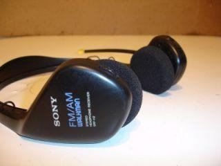 sony srf h2 am fm headphone walkman set