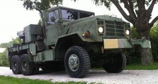 1984 Am General M936 Military Semi 5 Ton Wrecker Truck M35A2 M916 M818