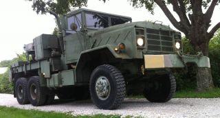 1984 Am General M936 Military Semi 5 Ton Wrecker Truck M35A2 M916 M818