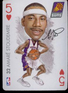 Amare Stoudemire Phoenix Suns NBA Playing Card 2004 Big Head
