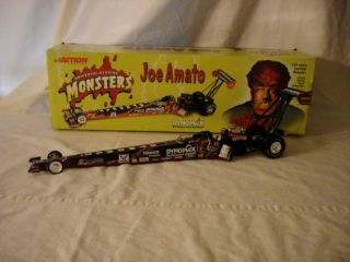 NHRA Mac Tools Dynomax The Wolfman Joe Amato Dragster